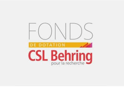 Fonds de dotation CSL Behring pour la recherche
