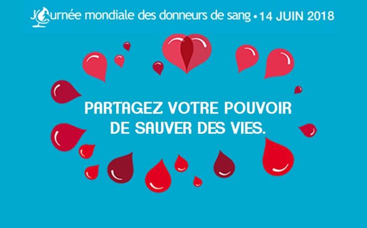 Journée mondiale de don du sang : CSL Behring actif pour la recherche
